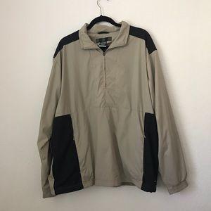NIKE GOLF Clima fit Half Zip Jacket SZ L